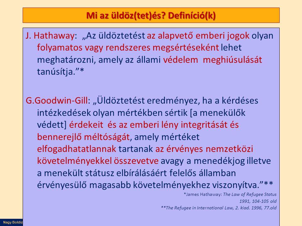 Mi az üldöz(tet)és Definíció(k)