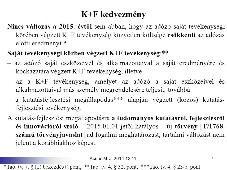 K+F kedvezmény