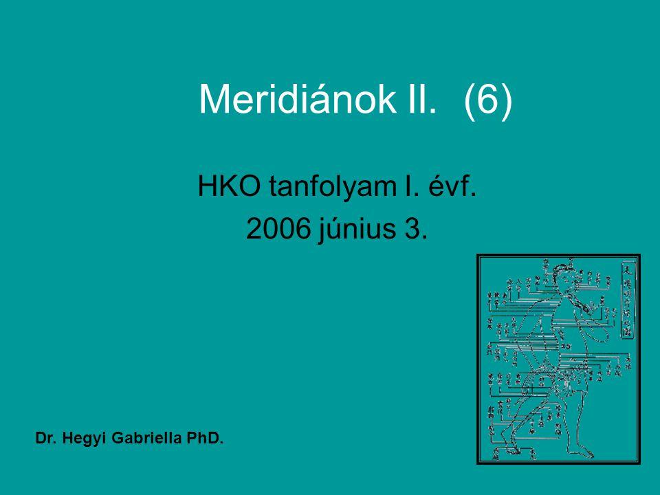 HKO tanfolyam I. évf. 2006 június 3.