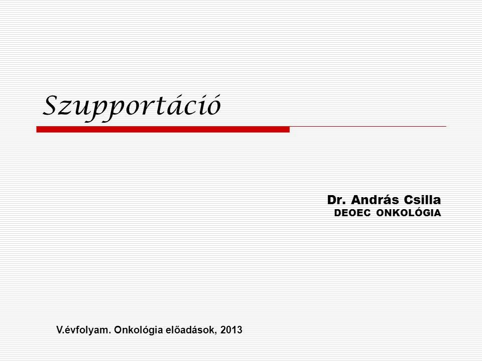 Dr. András Csilla DEOEC ONKOLÓGIA