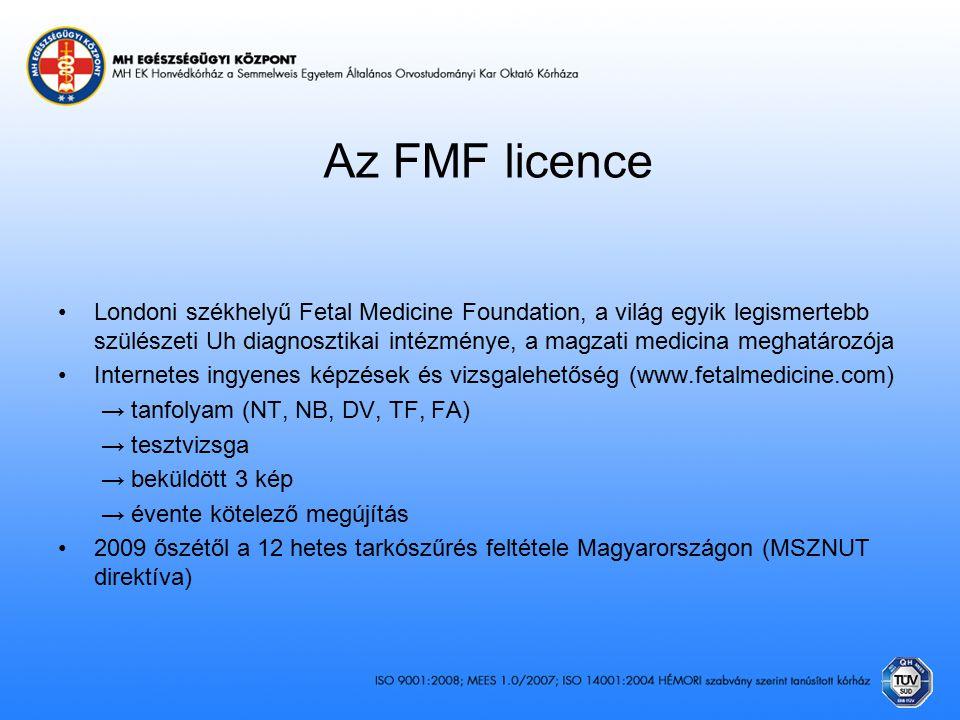 Az FMF licence