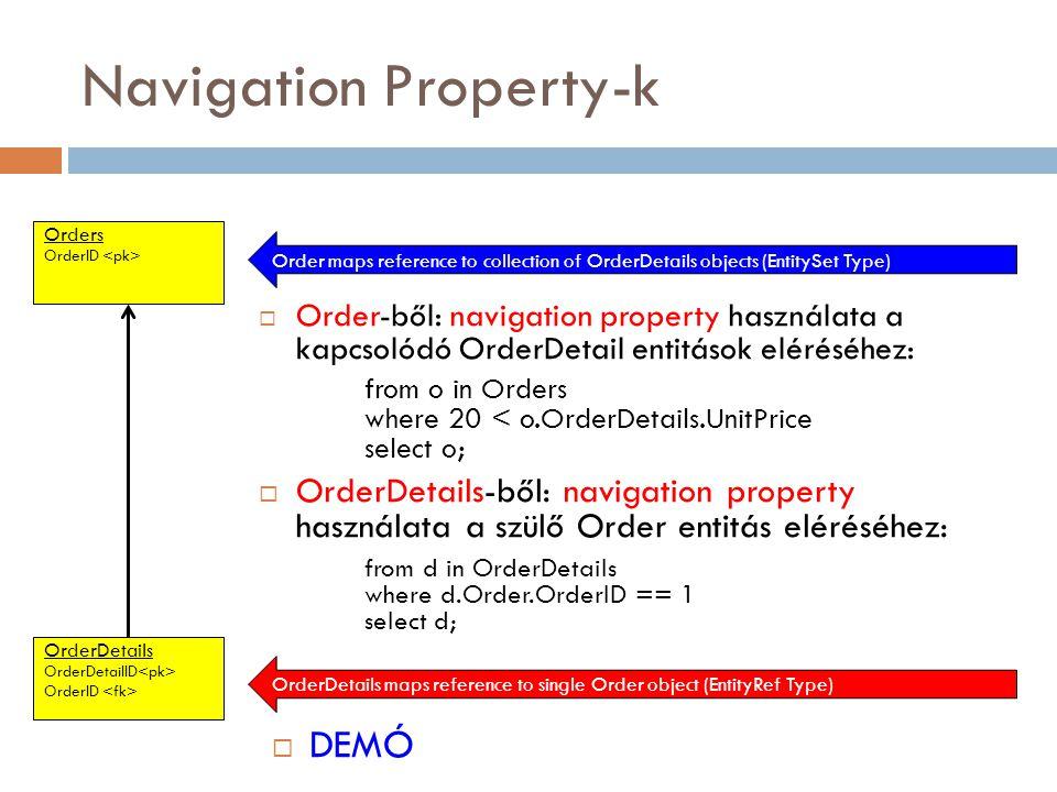 Navigation Property-k