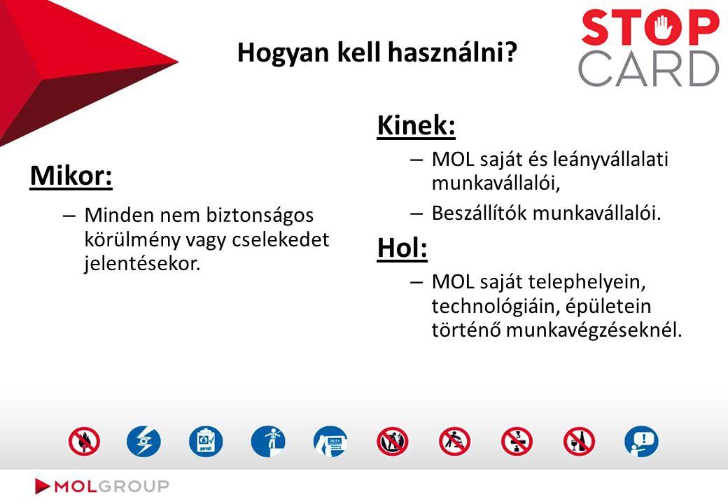 Folyamatleírás(STOP CARD)