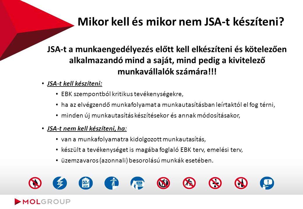 """Mi a """"Munkafolyamat veszélyelemzés - JSA"""