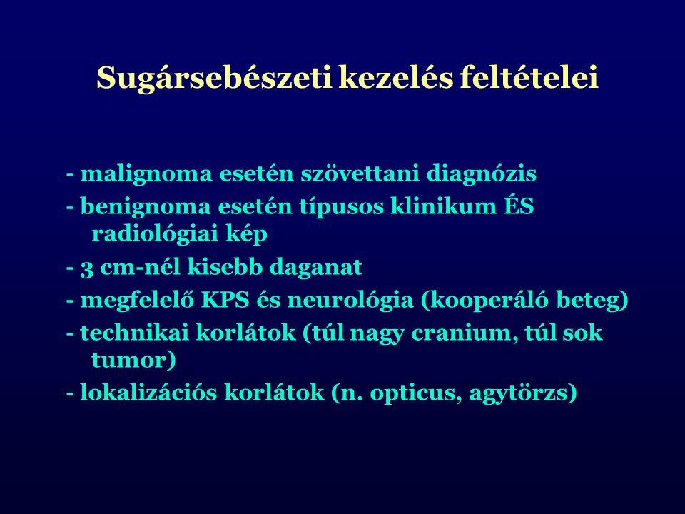 Sugársebészeti kezelés feltételei