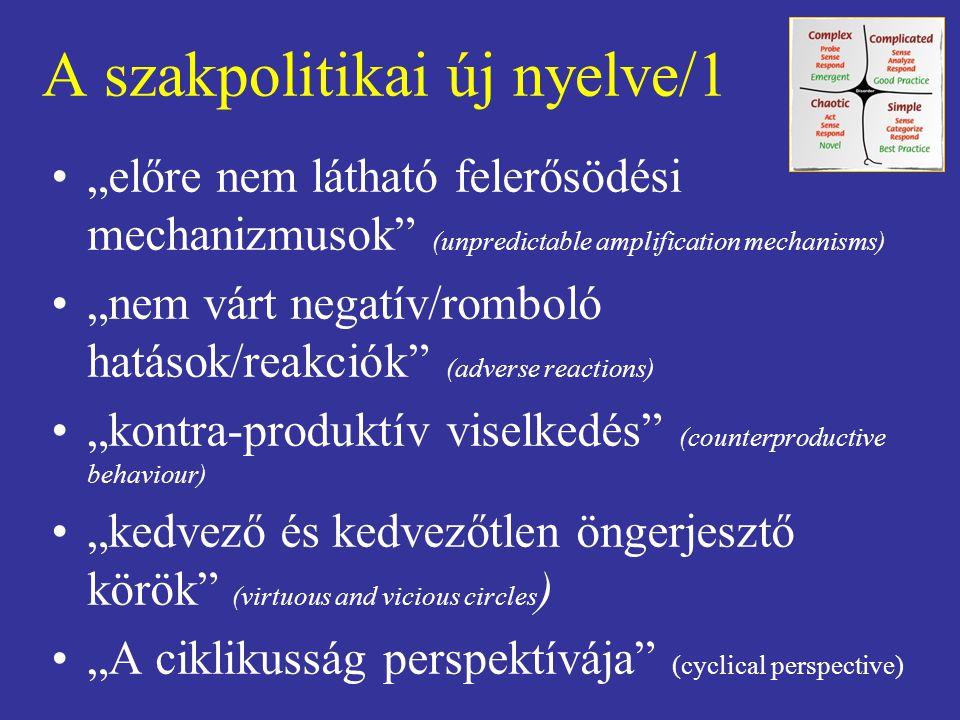 A szakpolitikai új nyelve/1