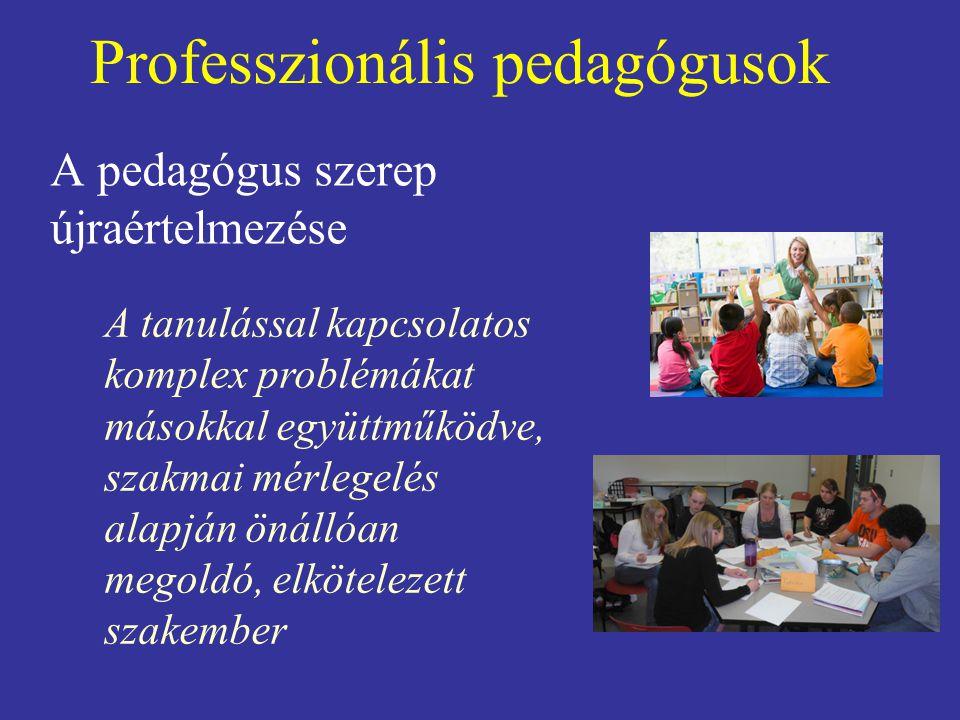 Professzionális pedagógusok