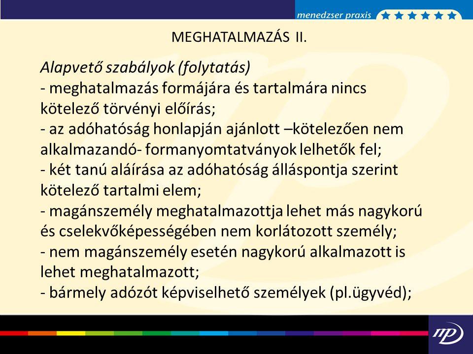 MEGHATALMAZÁS II.