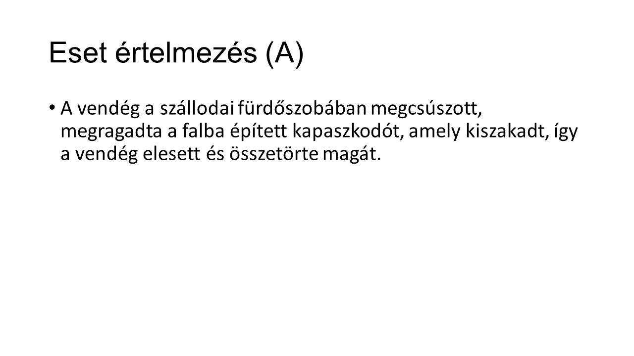 Eset értelmezés (A)