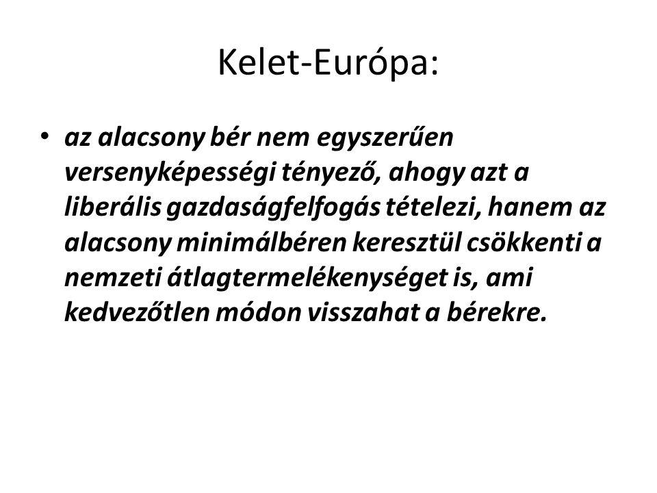 Kelet-Európa: