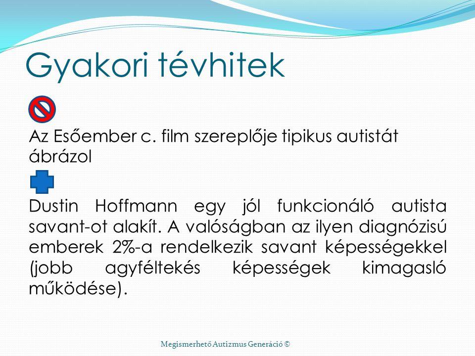 Megismerhető Autizmus Generáció ©