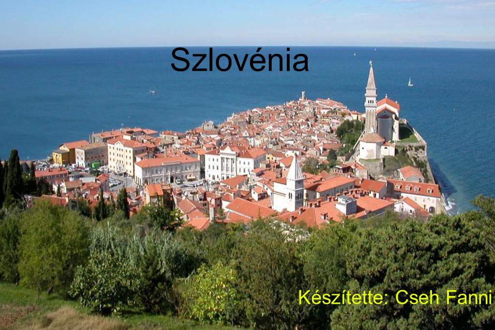 Szlovénia Készítette: Cseh Fanni