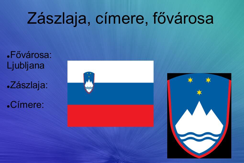 Zászlaja, címere, fővárosa