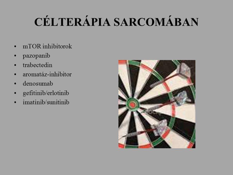 CÉLTERÁPIA SARCOMÁBAN