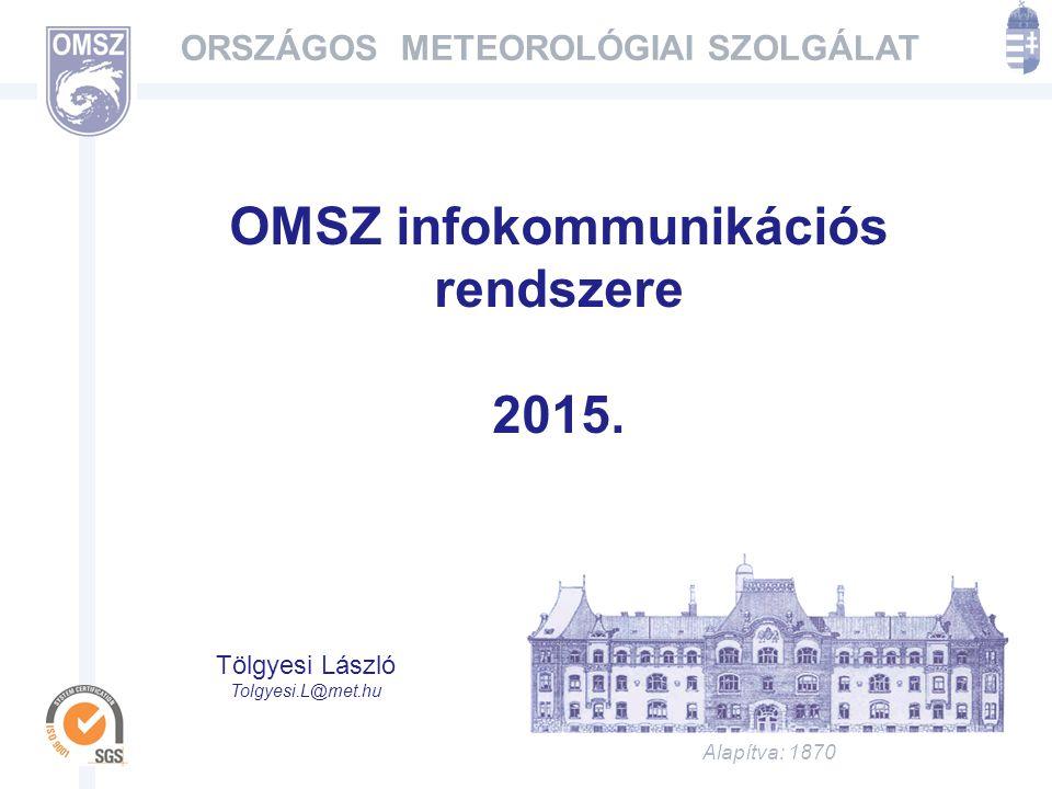 OMSZ infokommunikációs rendszere