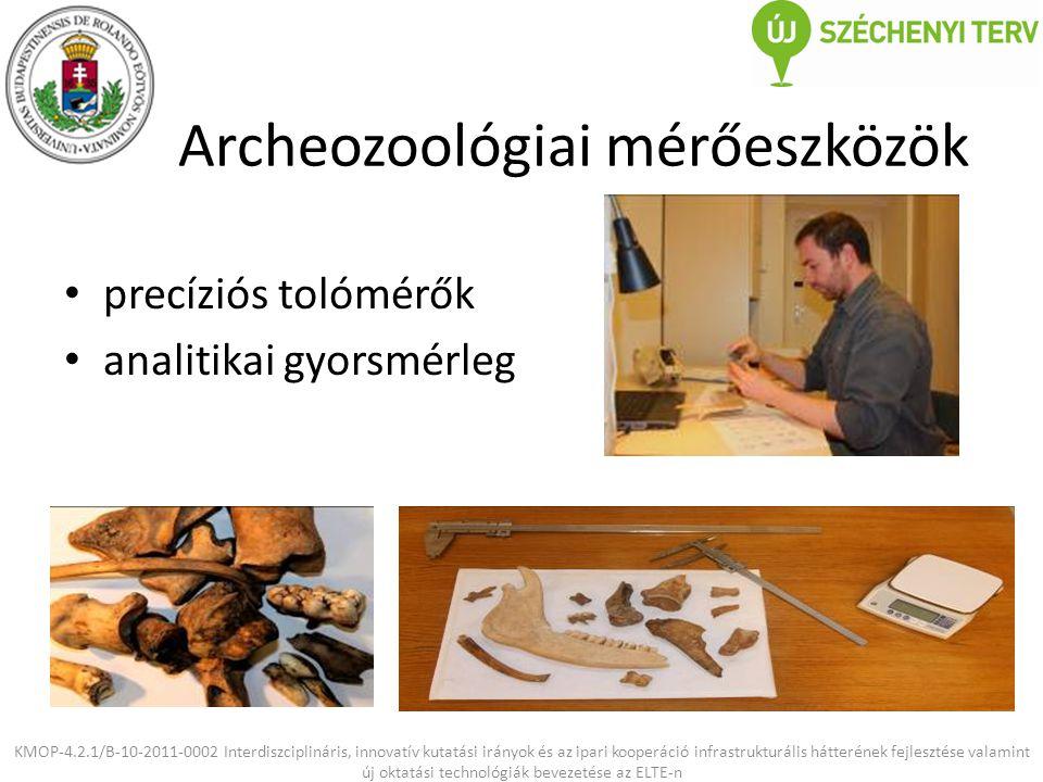 Archeozoológiai mérőeszközök