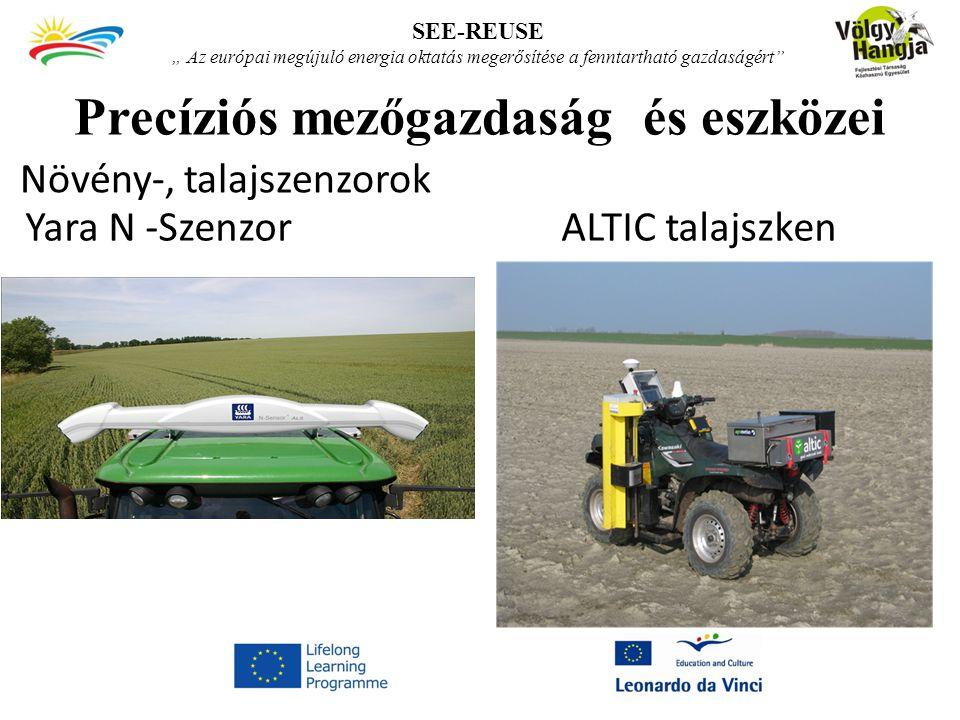 Precíziós mezőgazdaság és eszközei