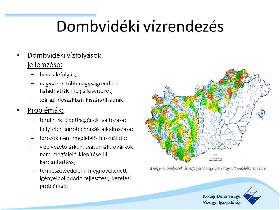 Dombvidéki vízrendezés
