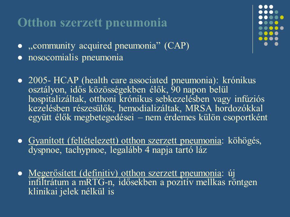 Otthon szerzett pneumonia