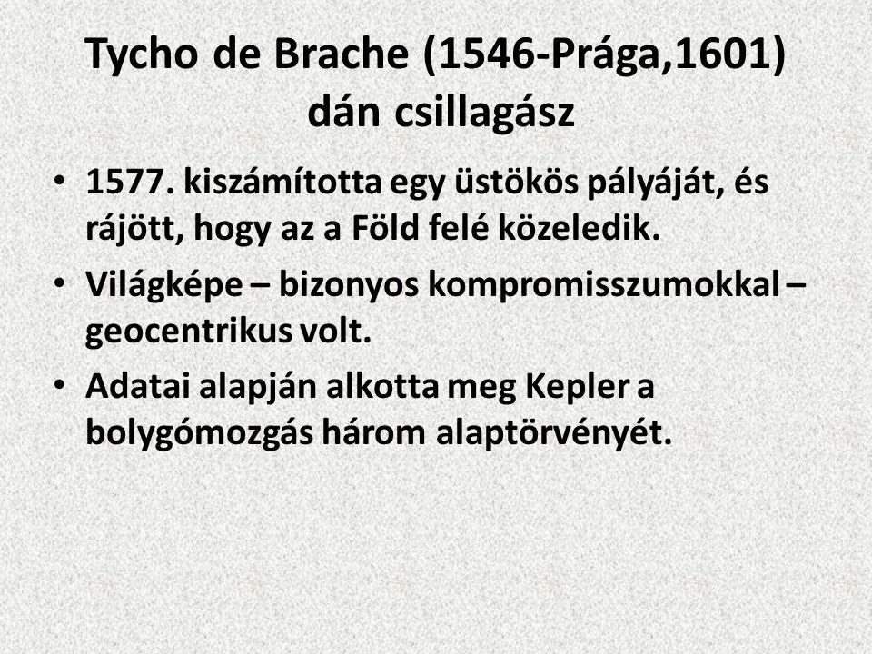 Tycho de Brache (1546-Prága,1601) dán csillagász