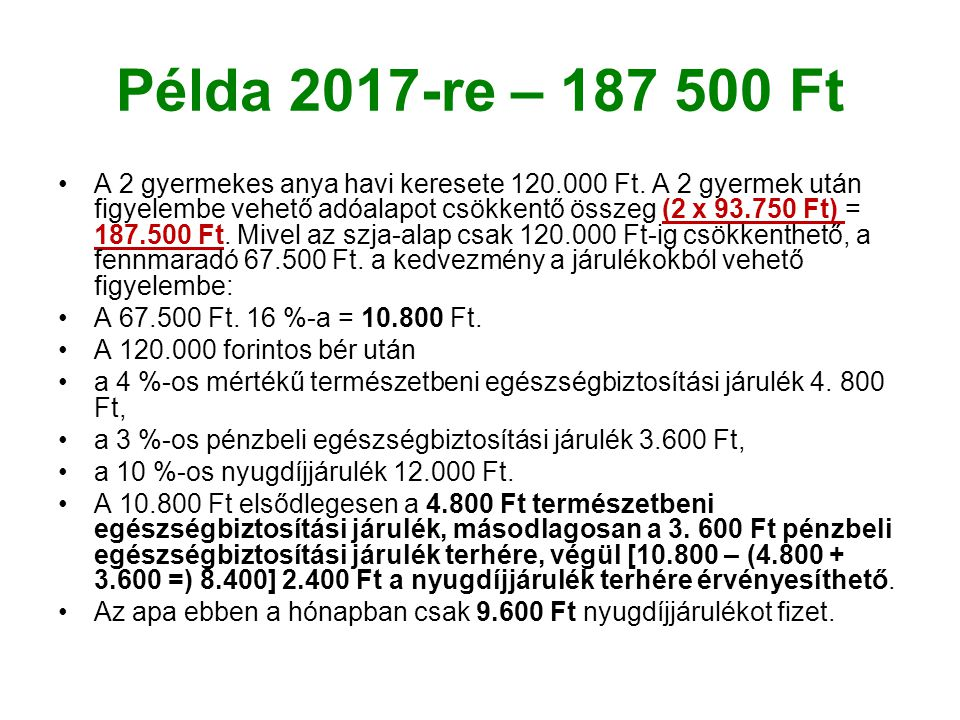 Példa 2017-re – 187 500 Ft