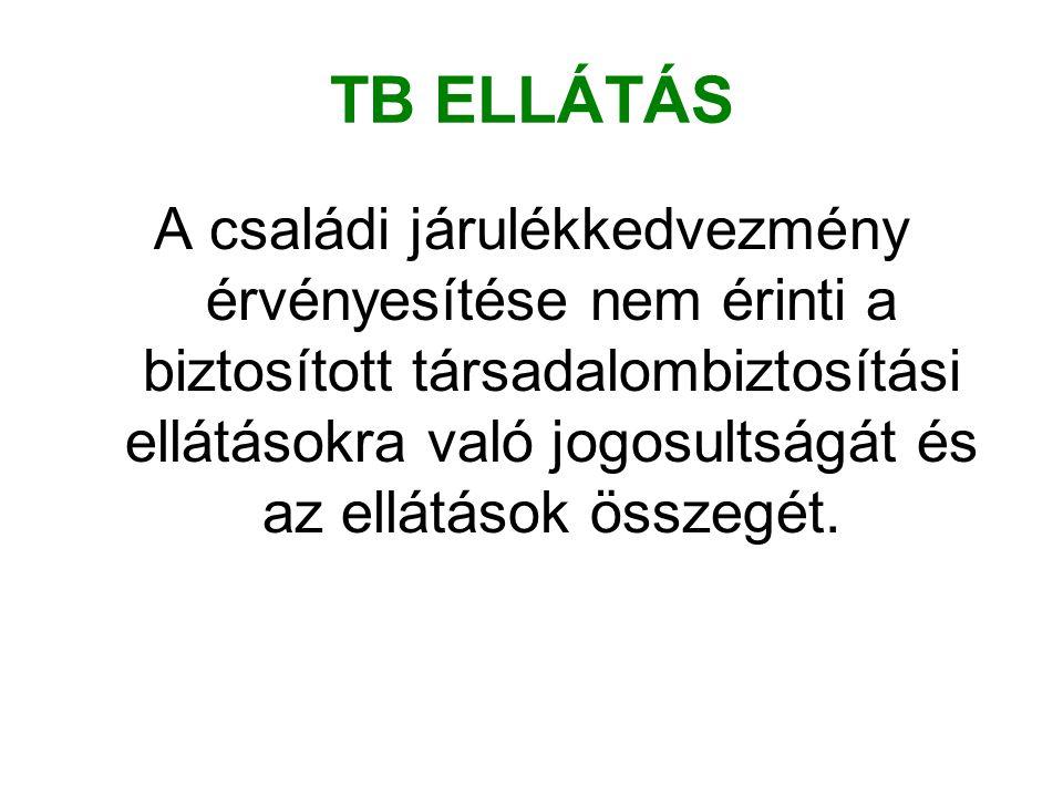 TB ELLÁTÁS