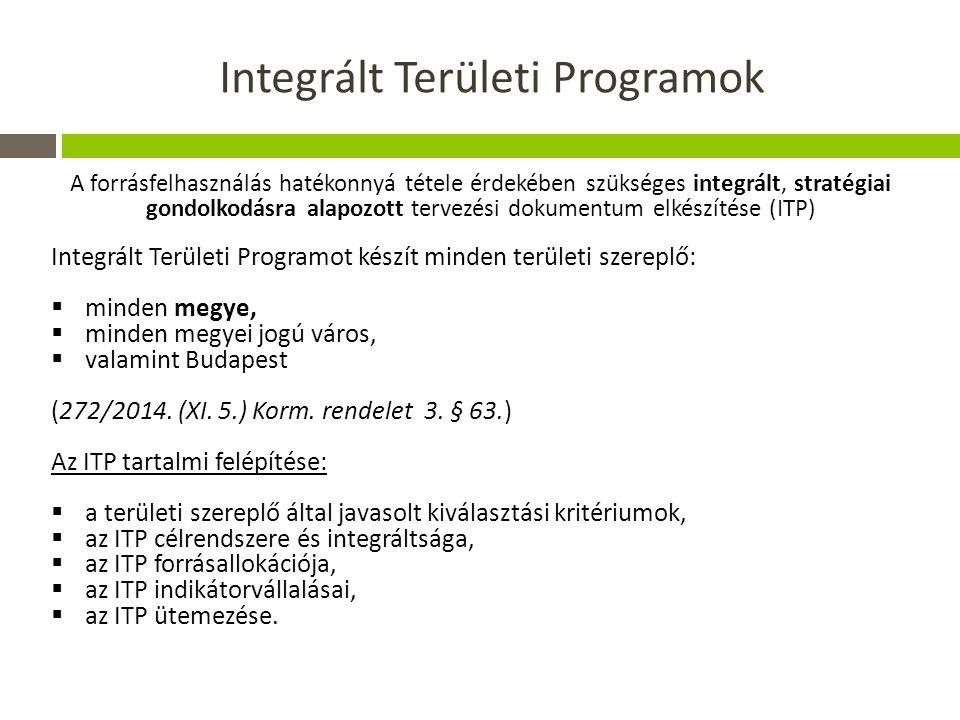 Integrált Területi Programok