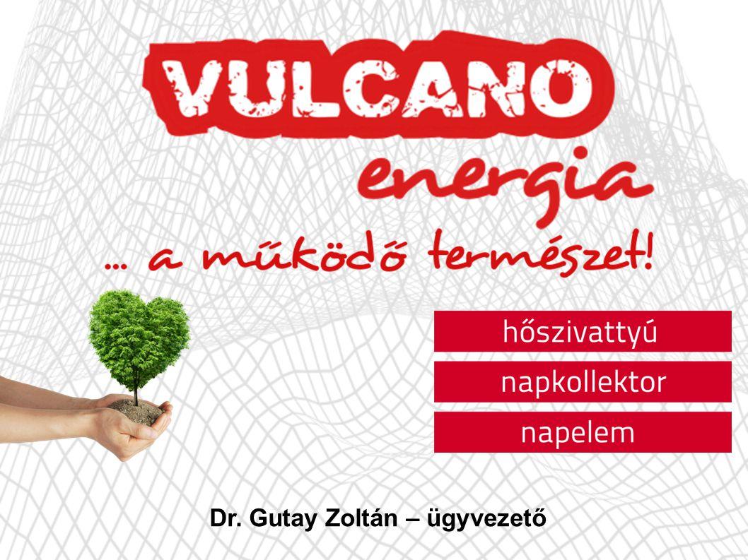 Dr. Gutay Zoltán – ügyvezető