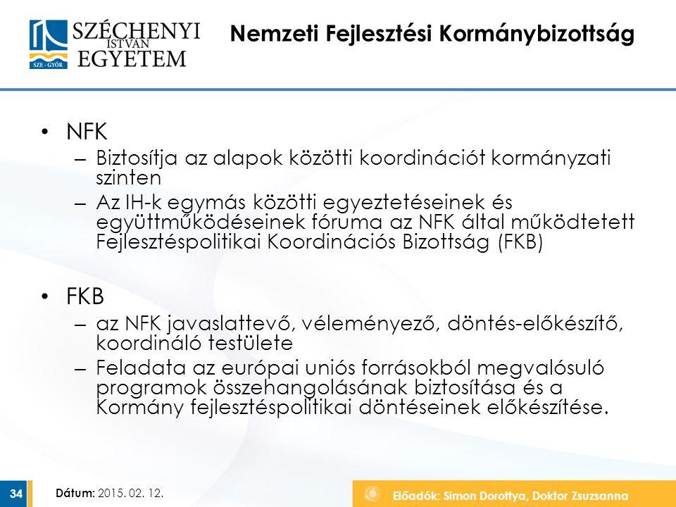 Nemzeti Fejlesztési Kormánybizottság