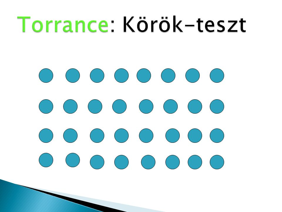 Torrance: Körök-teszt