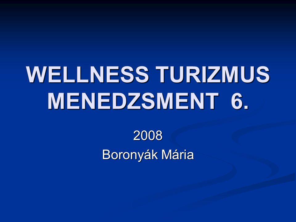 WELLNESS TURIZMUS MENEDZSMENT 6.