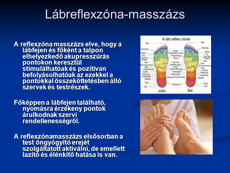Lábreflexzóna-masszázs