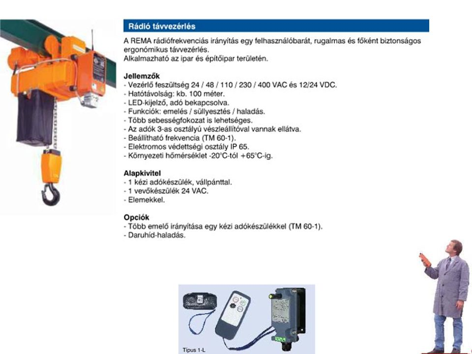 IPF Emelőgépek