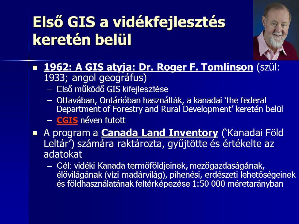 Első GIS a vidékfejlesztés keretén belül