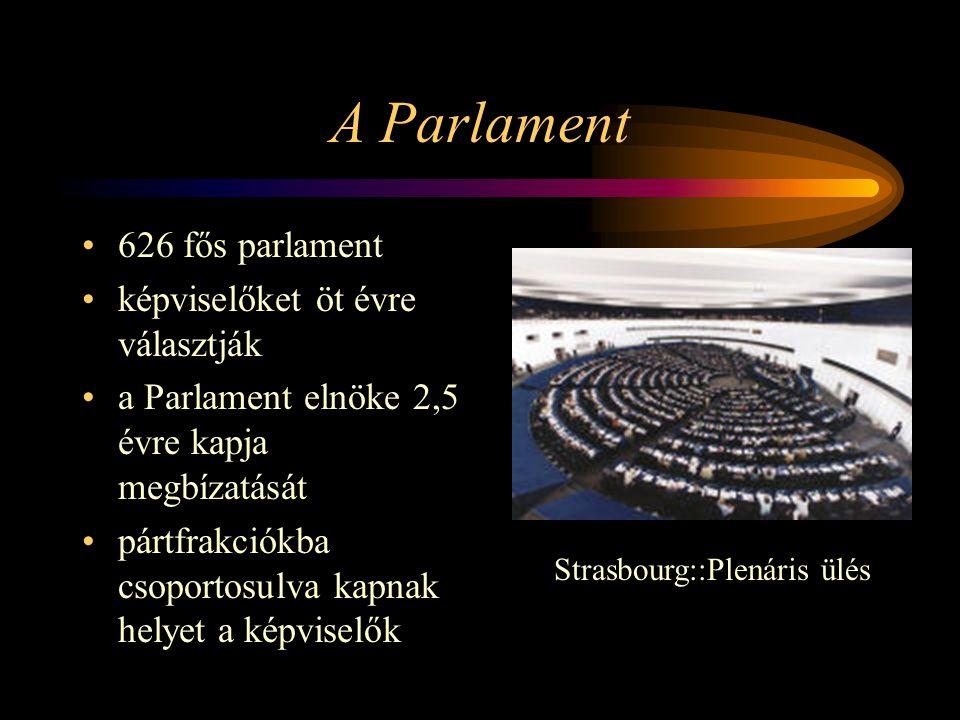 Strasbourg::Plenáris ülés