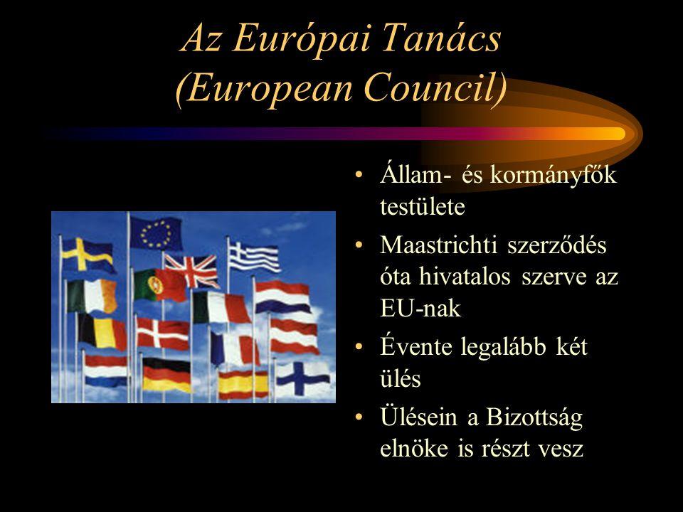 Az Európai Tanács (European Council)