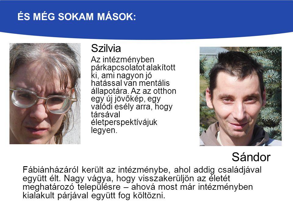 Sándor Szilvia És még sokam mások: