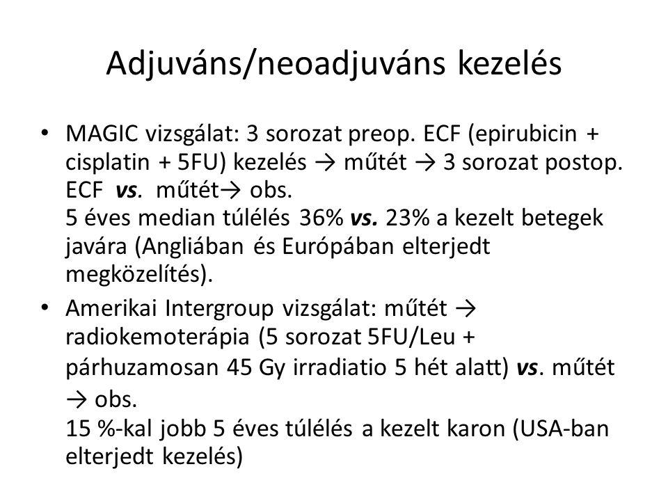 Adjuváns/neoadjuváns kezelés