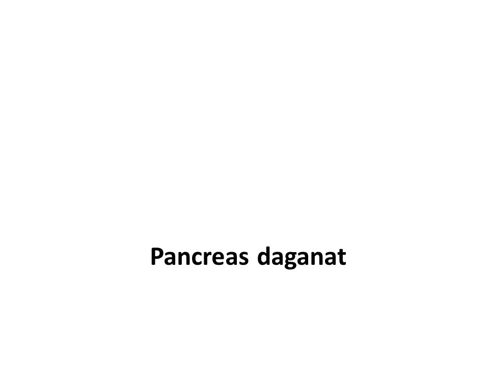 Pancreas daganat