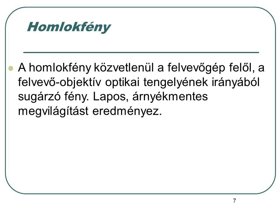 Homlokfény