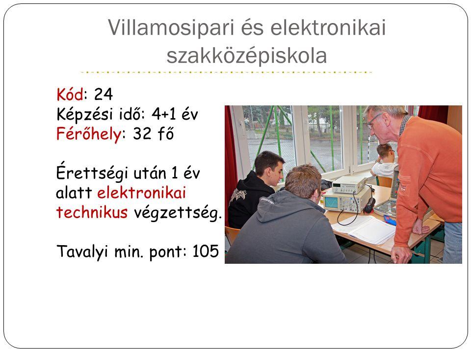 Villamosipari és elektronikai szakközépiskola