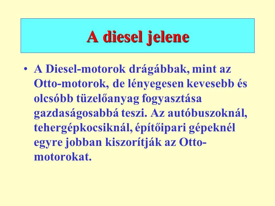 A diesel jelene
