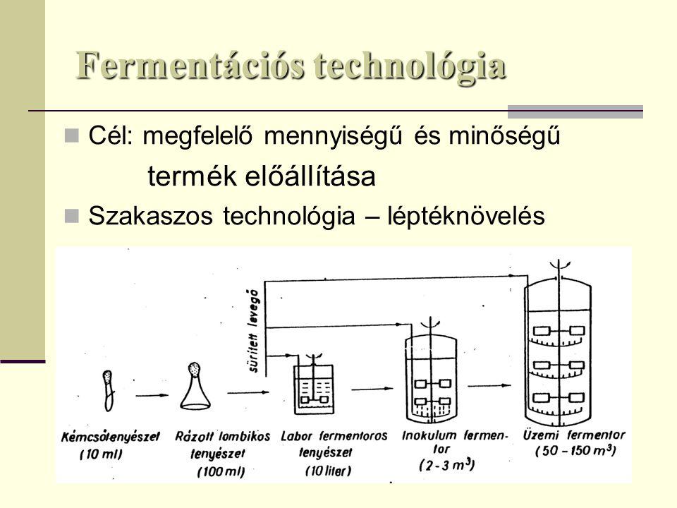 Fermentációs technológia
