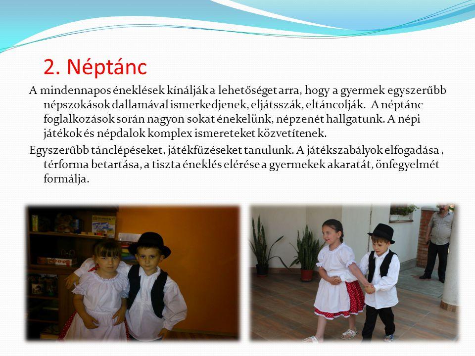 2. Néptánc