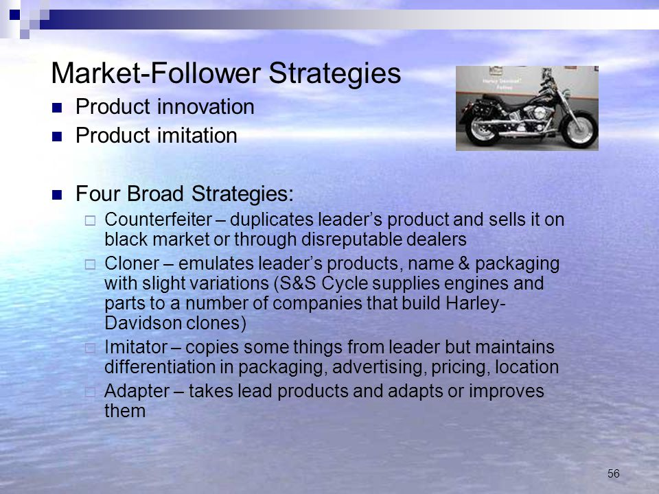 Market-Follower Strategies