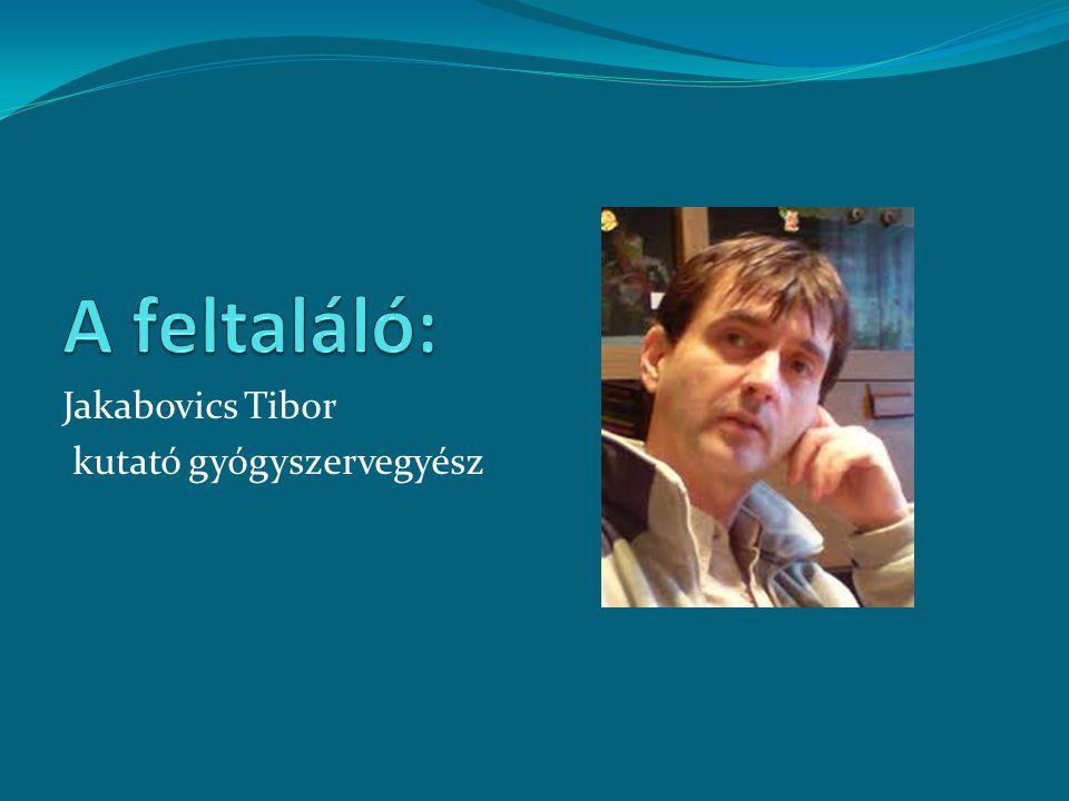 Jakabovics Tibor kutató gyógyszervegyész