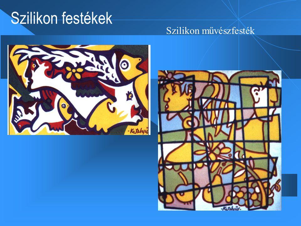 Szilikon festékek Szilikon művészfesték