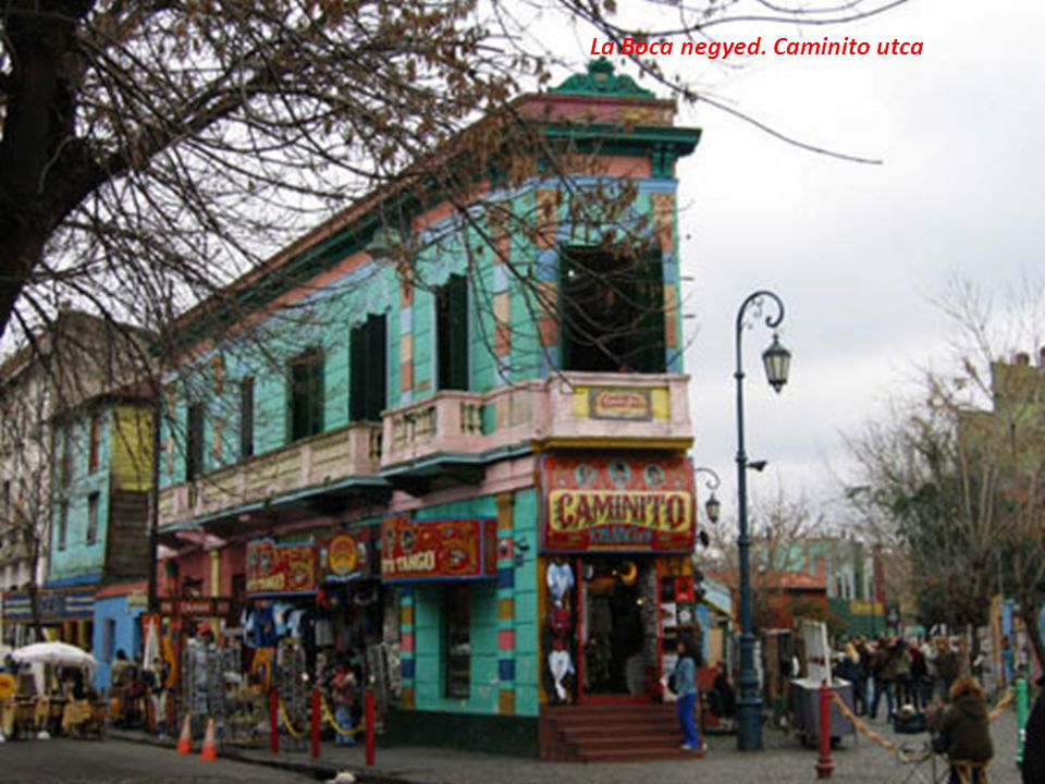 La Boca negyed. Caminito utca