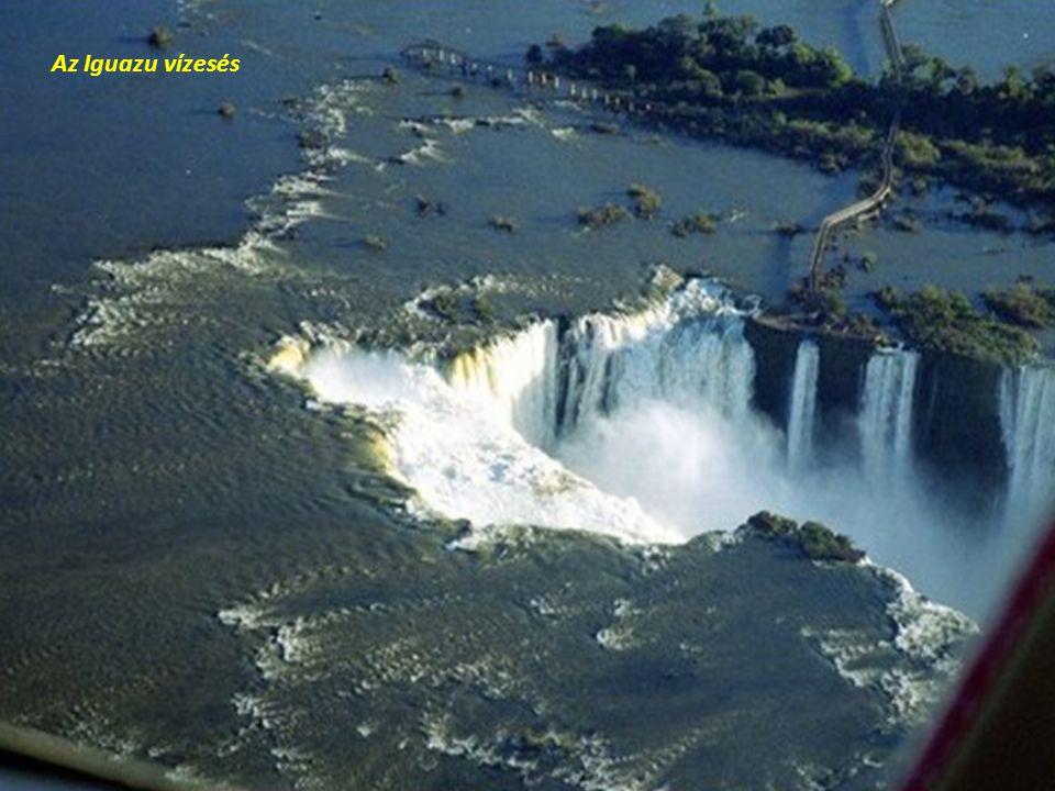 Az Iguazu vízesés