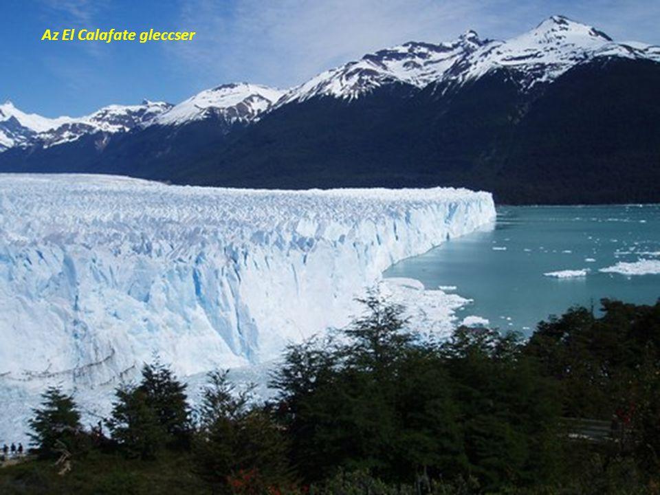 Az El Calafate gleccser
